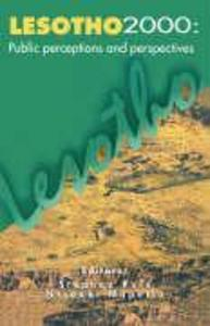 Lesotho 2000: Public Perceptions and Perspectives als Taschenbuch