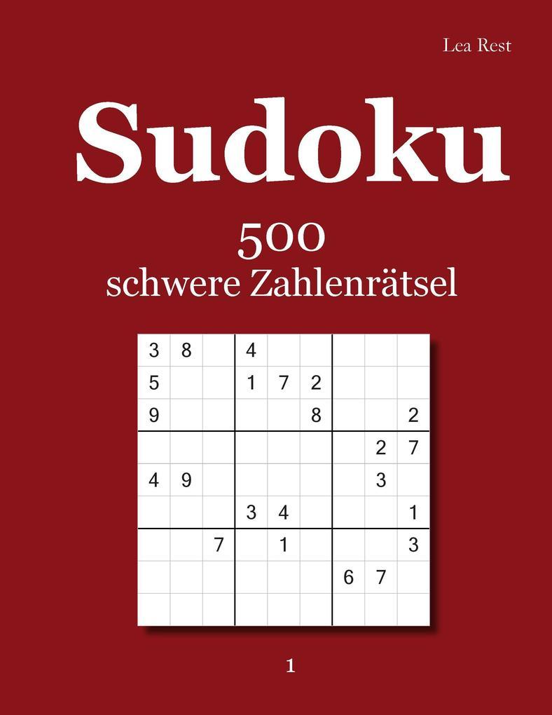Sudoku als Buch von Lea Rest
