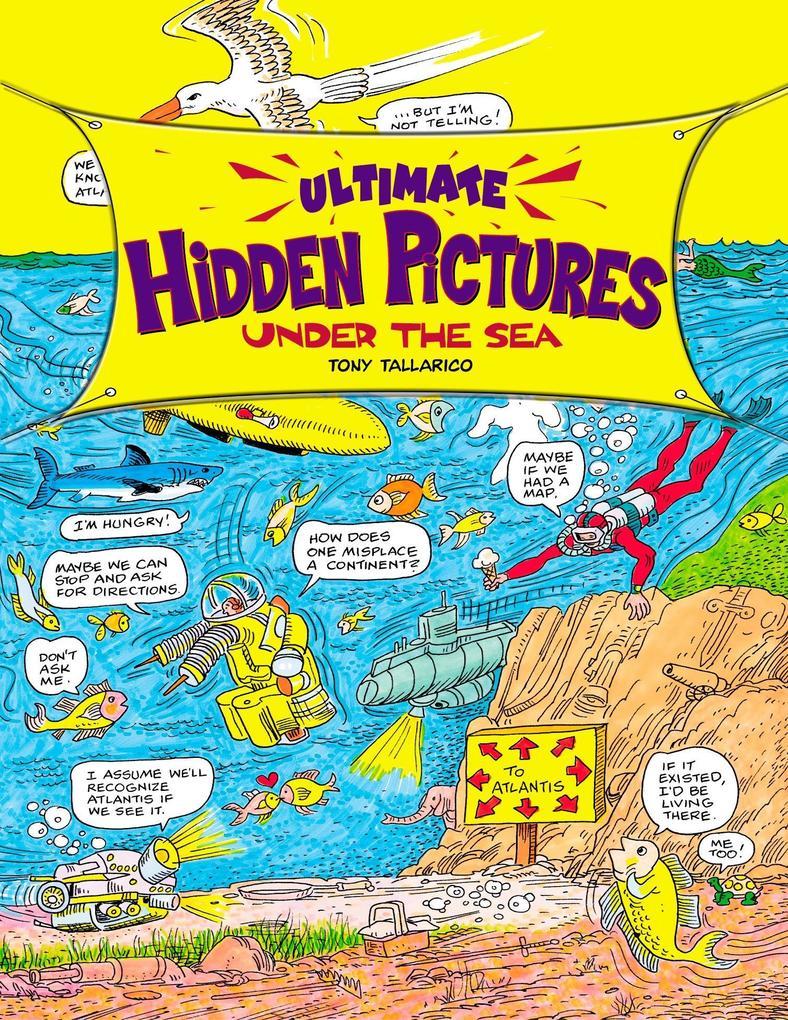 Ultimate Hidden Pictures Under the Sea als Taschenbuch