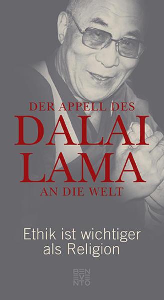 Der Appell des Dalai Lama an die Welt als Buch