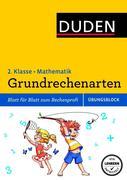 Übungsblock: Mathematik - Grundrechenarten 2. Klasse