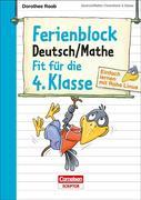 Einfach lernen mit Rabe Linus - Deutsch / Mathe Ferienblock 4. Klasse