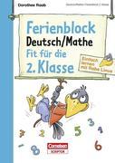 Ferienblock Deutsch / Mathe - Fit für die 2. Klasse