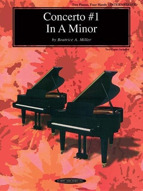 Concerto #1 in a Minor: Sheet als Taschenbuch