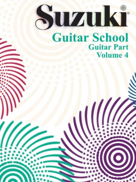 Suzuki Guitar School, Vol 4: Guitar Part als Buch
