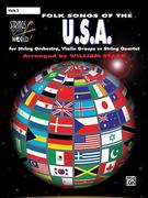 Strings Around the World -- Folk Songs of the U.S.A.: Violin 2