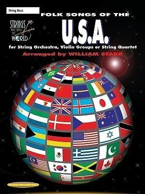 Strings Around the World -- Folk Songs of the U.S.A.: String Bass als Taschenbuch