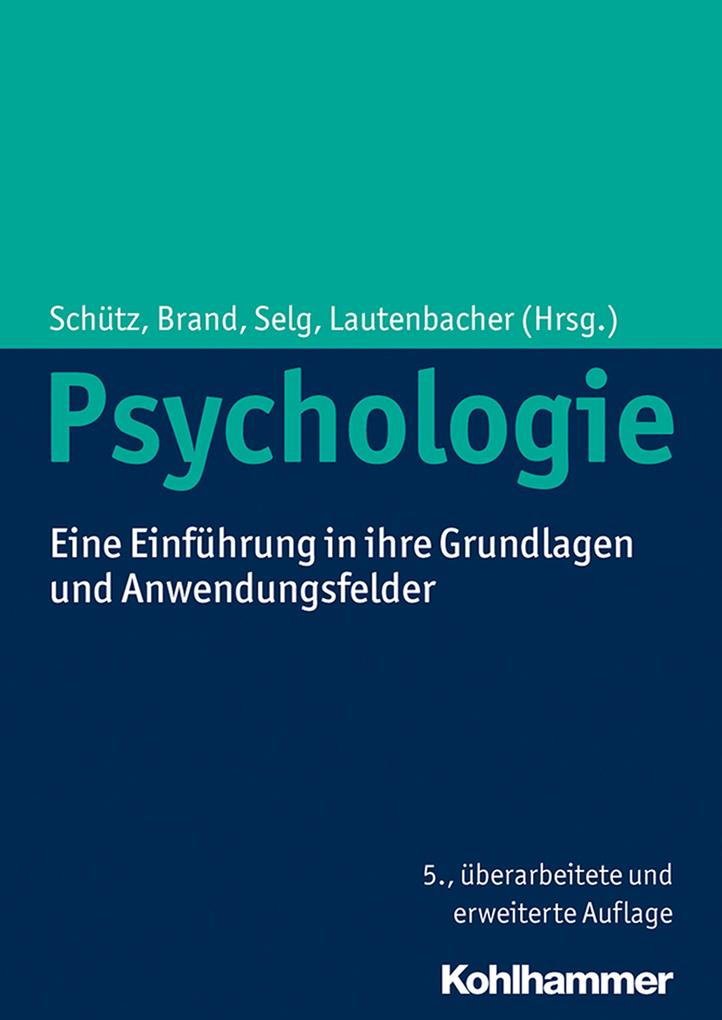 Psychologie als eBook Download von