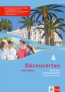 Découvertes Série bleue 4. Fit für Test und Klassenarbeiten. Arbeitsheft mit Lösungen und Audio-CD. ab Klasse 7