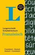 Langenscheidt Schulwörterbuch Französisch - Buch mit App