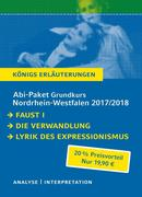 Abi-Paket Grundkurs Nordrhein-Westfalen 2017 & 2018 - Königs Erläuterungen.