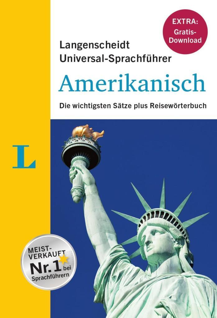 Langenscheidt Universal-Sprachführer Amerikanis...
