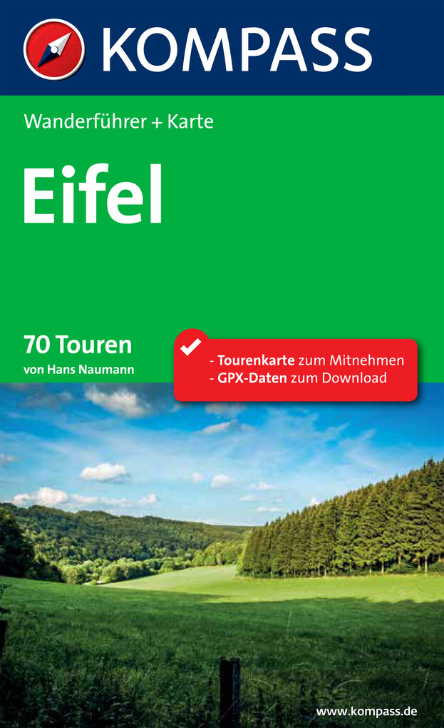 Kompass Wanderführer Eifel als eBook Download v...