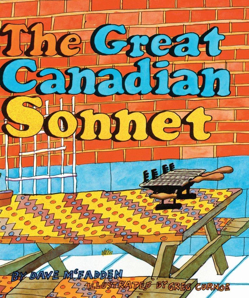 The Great Canadian Sonnet als Taschenbuch