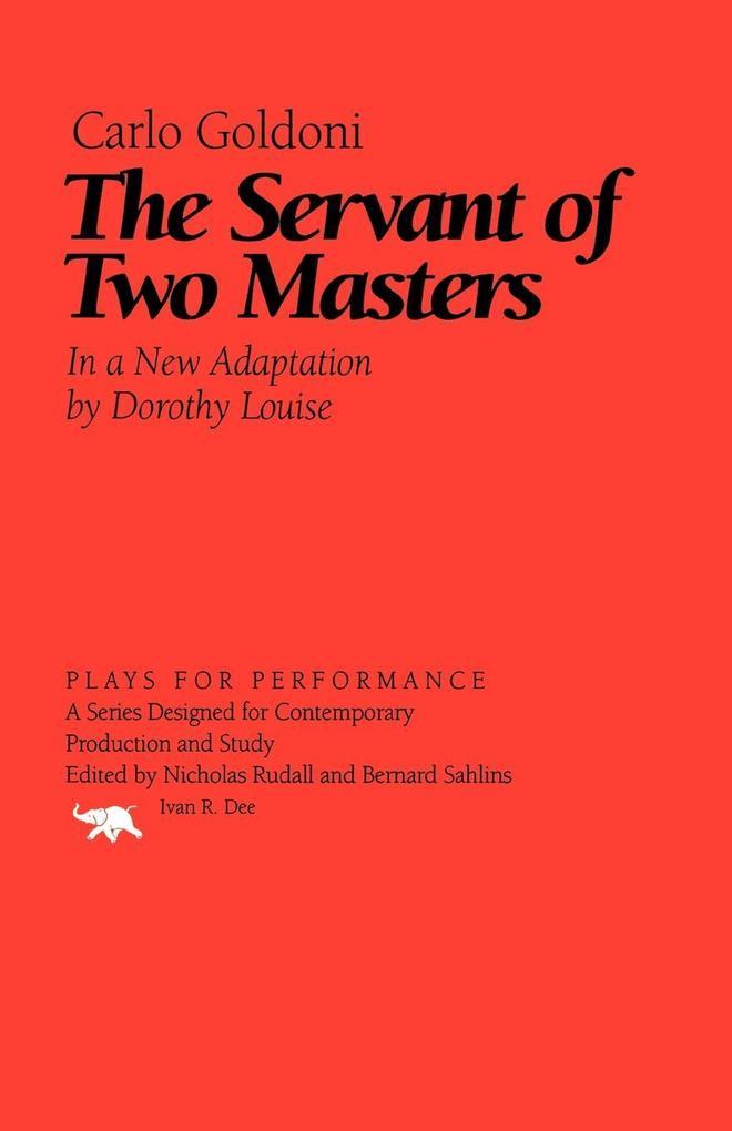 The Servant of Two Masters als Taschenbuch