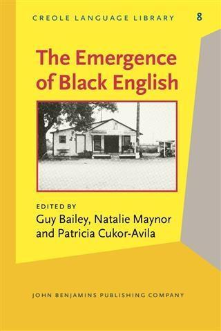 Emergence of Black English als eBook Download von