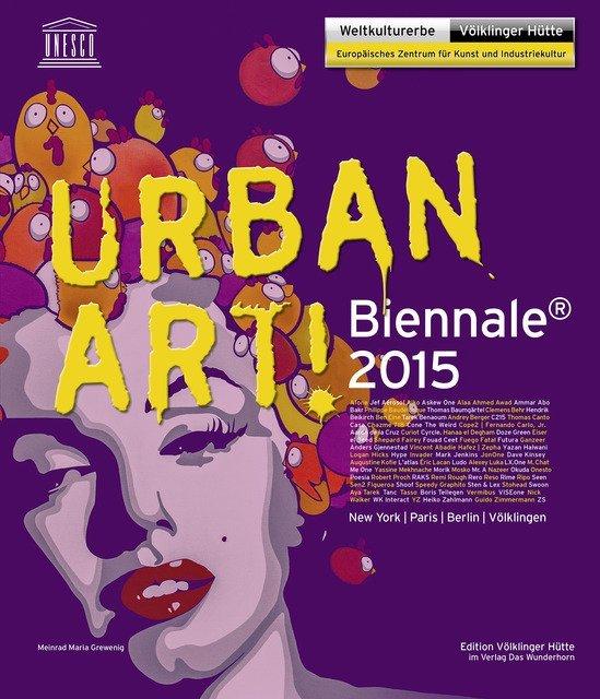 Urban Art! Biennale 2015 als Buch von Jef Aéros...