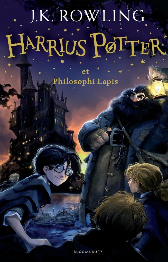 Harrius Potter Et Philosophi Lapis: (harry Potter and the Philosopher's Stone) als Buch