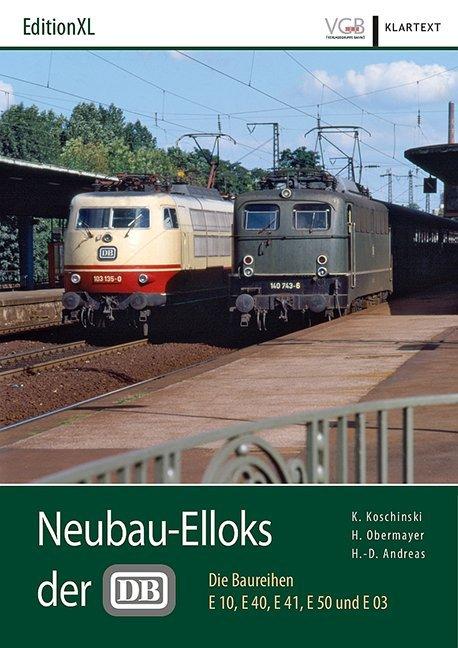 Neubau-Elloks der DB als Buch
