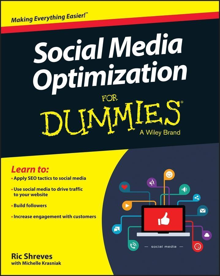 Social Media Optimization For Dummies als eBook...