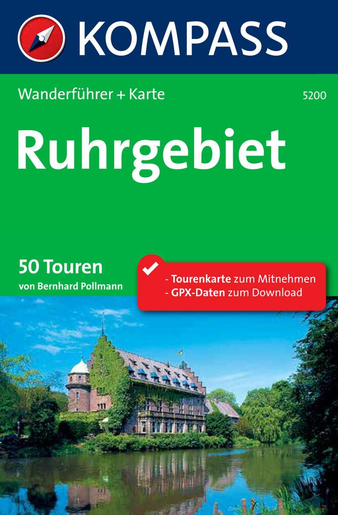 Kompass Wanderführer Ruhrgebiet als eBook Downl...