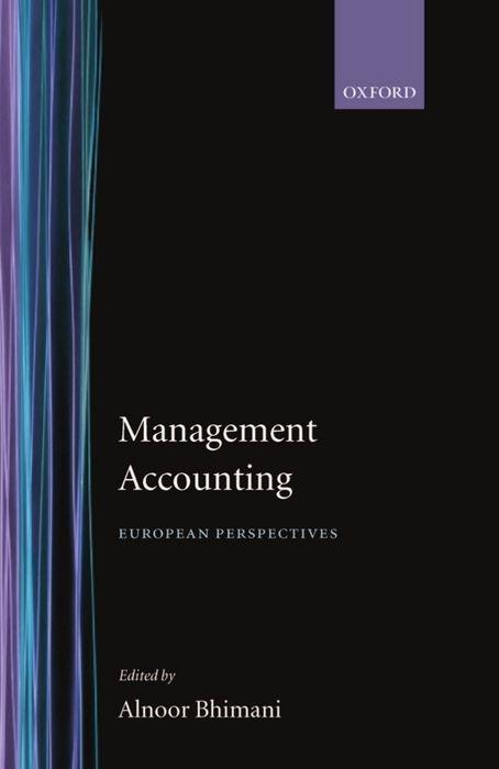 Management Accounting: European Perspectives als Buch