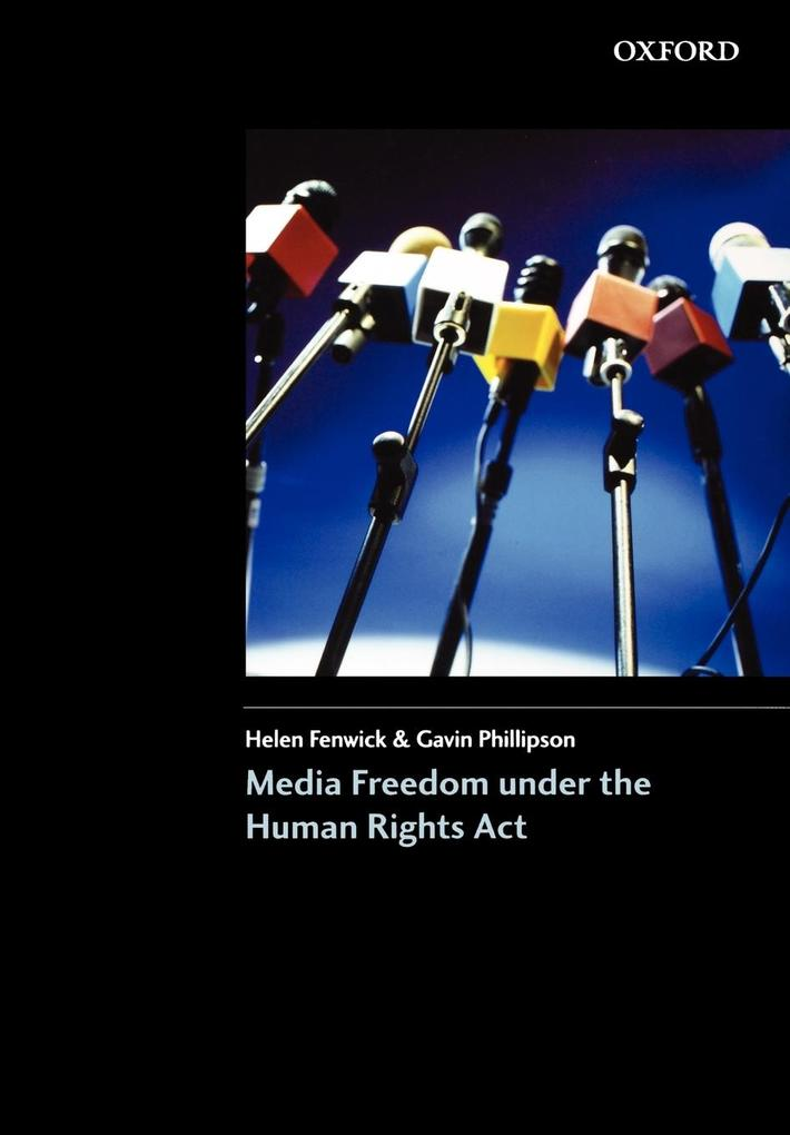 Media Freedom Under the Human Rights Acts als Buch