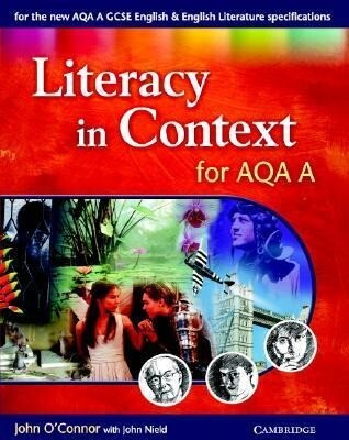 Literacy in Context for AQA A als Buch