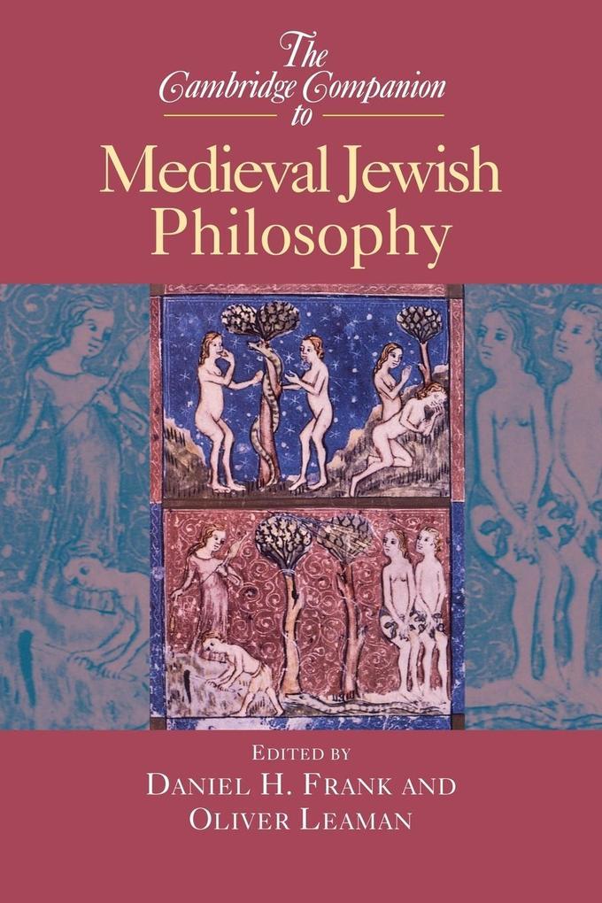 The Cambridge Companion to Medieval Jewish Philosophy als Buch (kartoniert)