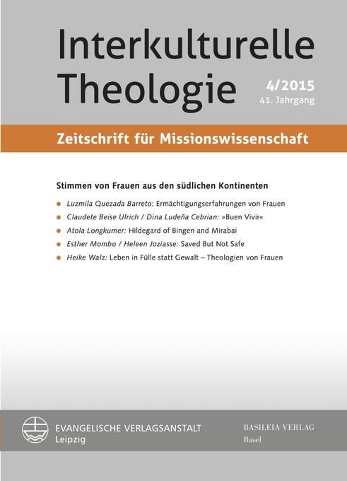 Interkulturelle Theologie - Stimmen von Frauen ...