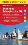 MARCO POLO Freizeitkarte 41 Bodensee, Schwäbische Alb 1 : 100 000