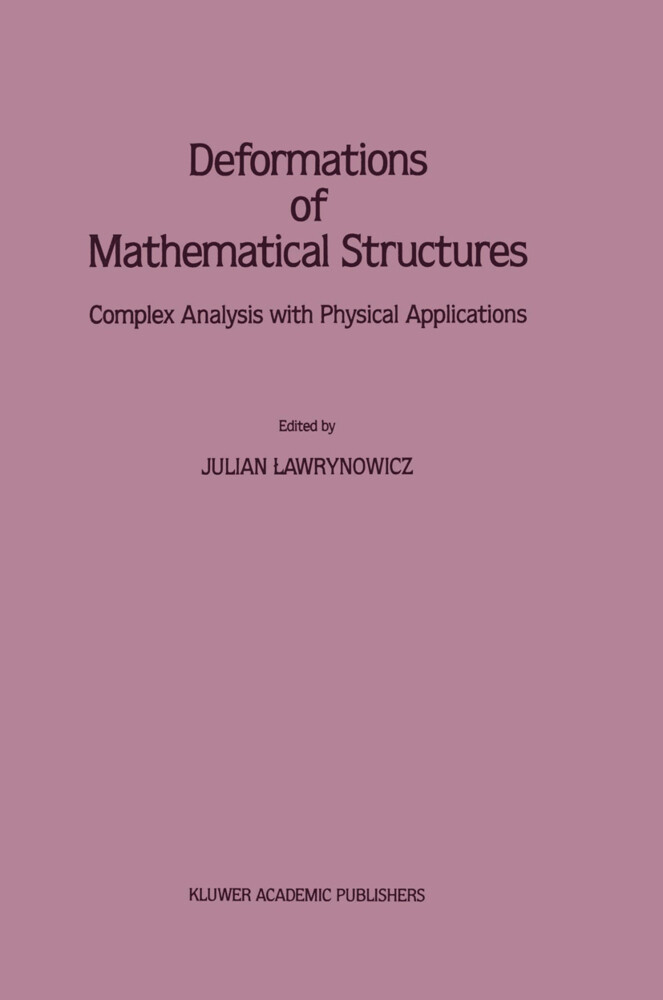 Deformations of Mathematical Structures als Buch
