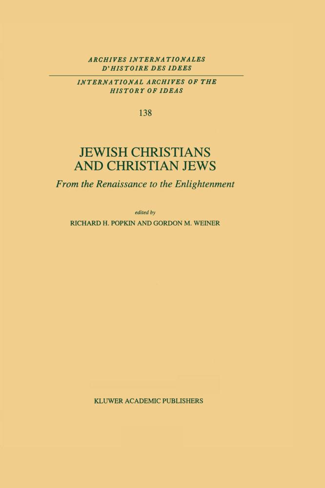 Jewish Christians and Christian Jews als Buch