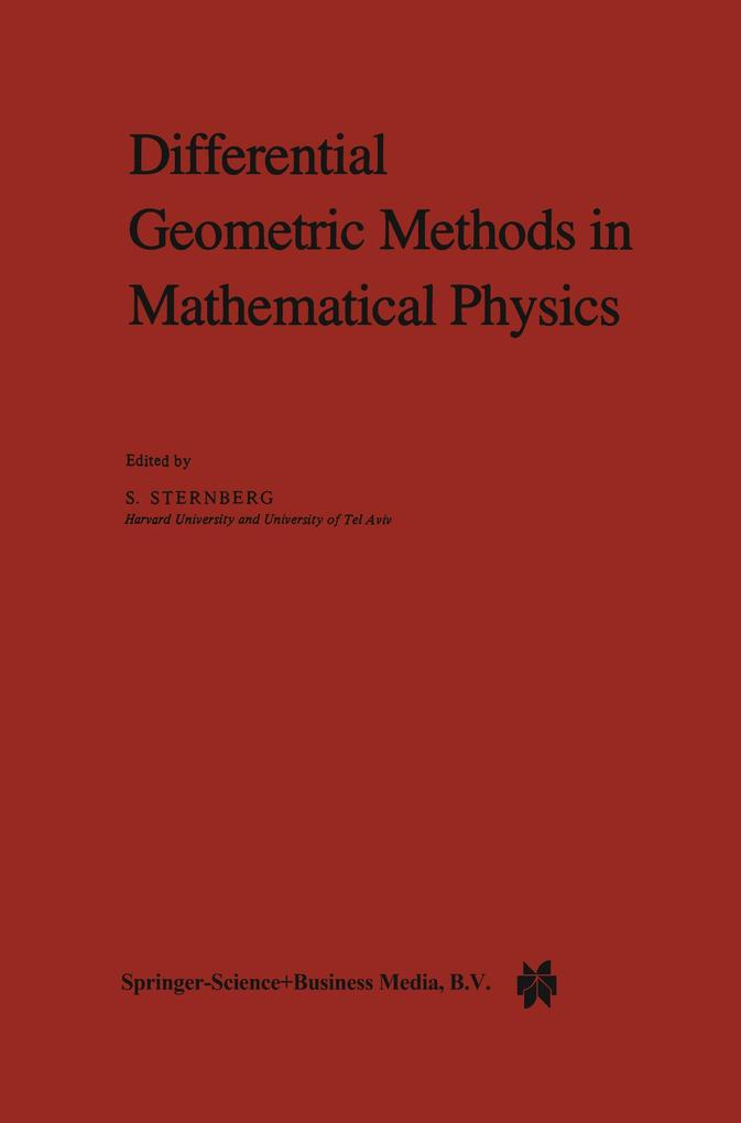 Differential Geometric Methods in Mathematical Physics als Buch
