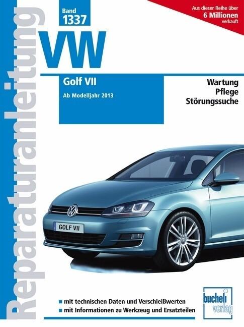 VW Golf VII als Buch