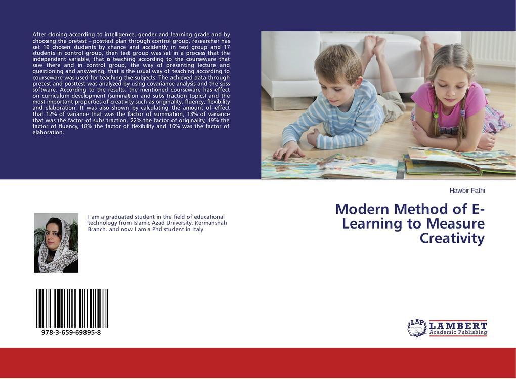 Modern Method of E- Learning to Measure Creativ...