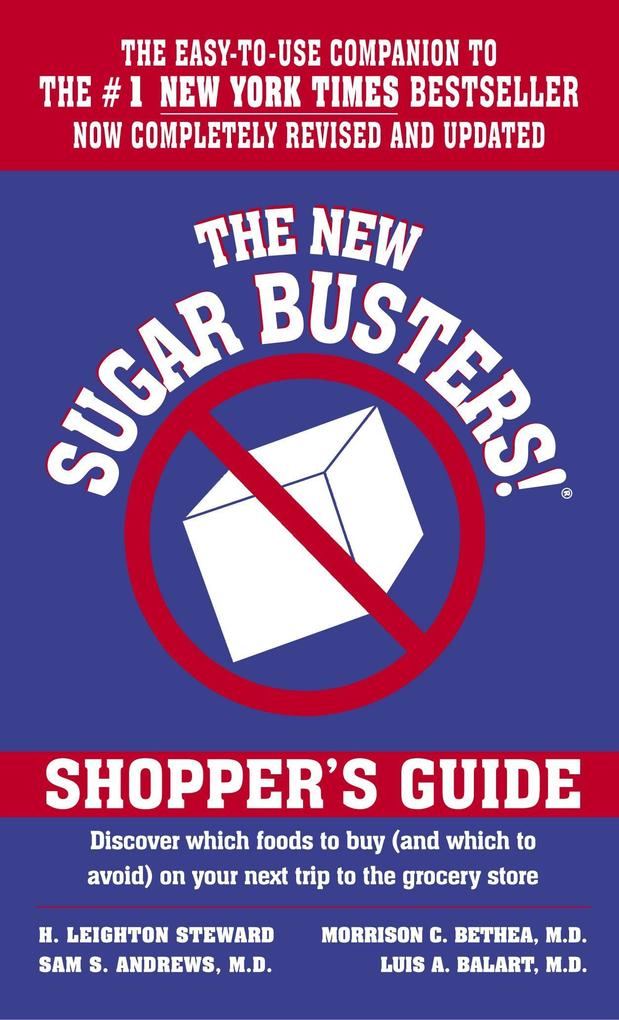 The New Sugar Busters!(r) Shopper's Guide als Taschenbuch