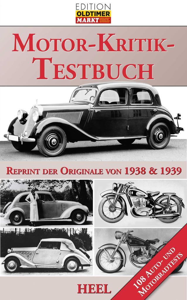 Das große Motor-Kritik-Testbuch als Buch von