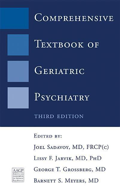 Comprehensive Textbook of Geriatric Psychiatry als Buch