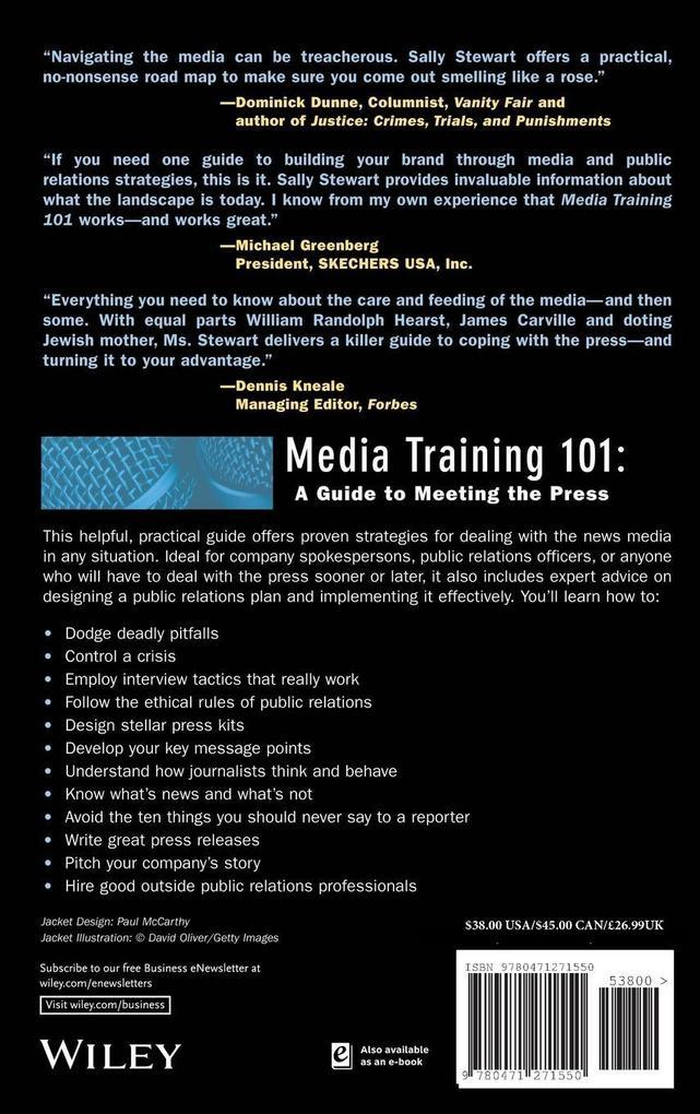 Media Training 101 als Buch