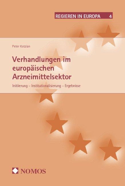 Verhandlungen im europäischen Arzneimittelsektor als Buch