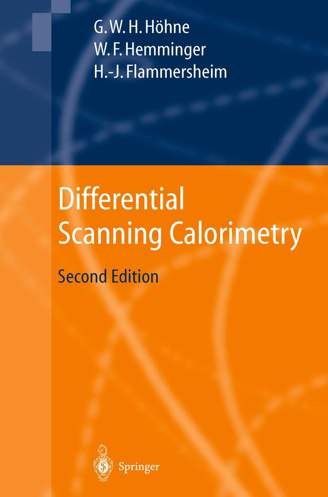 Differential Scanning Calorimetry als Buch