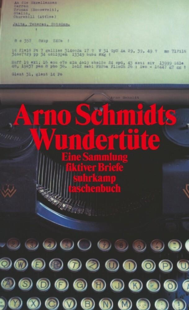 Arno Schmidts Wundertüte als Taschenbuch
