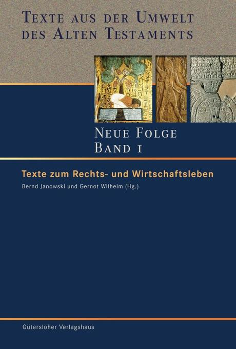 Texte aus der Umwelt des Alten Testaments. Neue Folge - Band 1 als Buch
