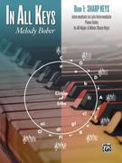 In All Keys -- Sharp Keys, Bk 1: Intermediate to Late Intermediate Piano Solos in All Major and Minor Sharp Keys
