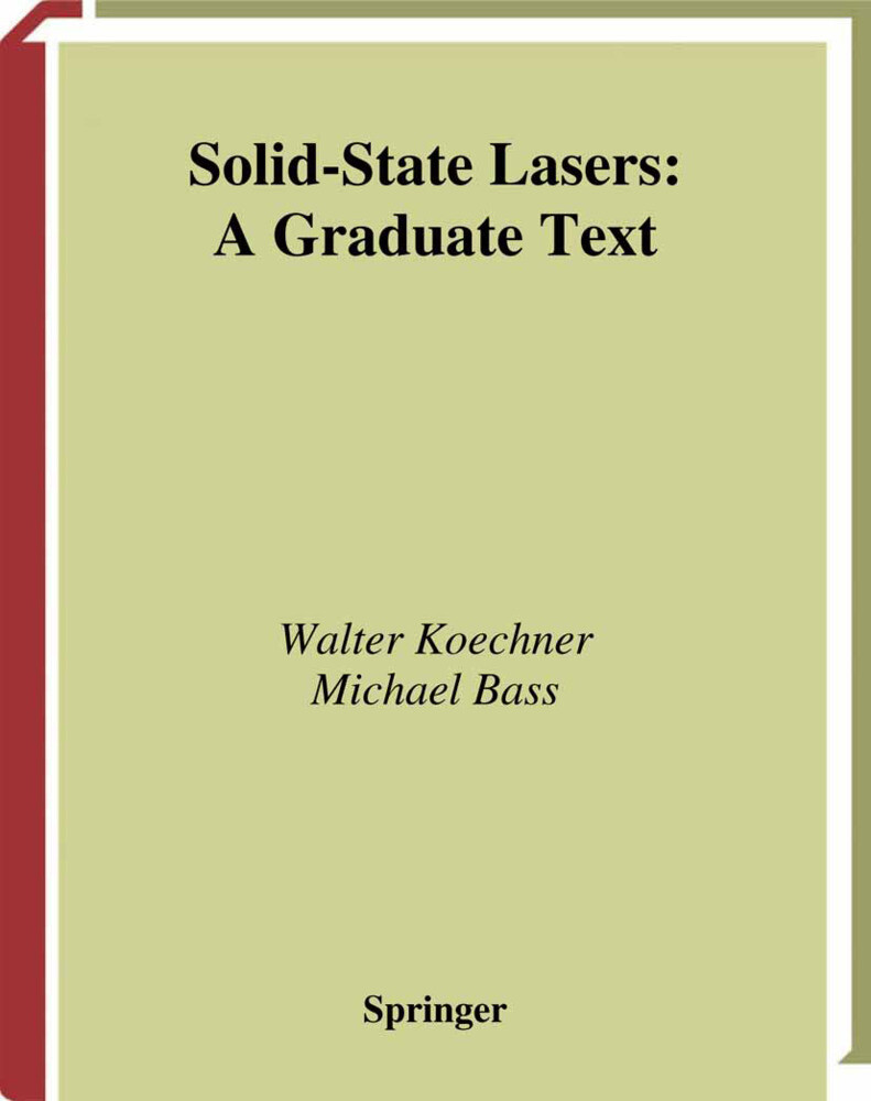 Solid-State Lasers als Buch
