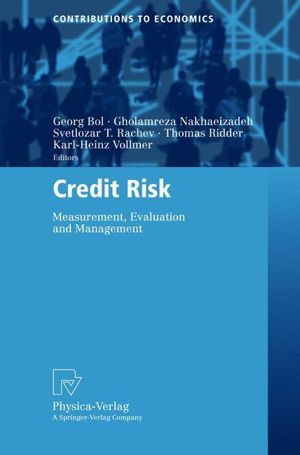 Credit Risk als Buch von