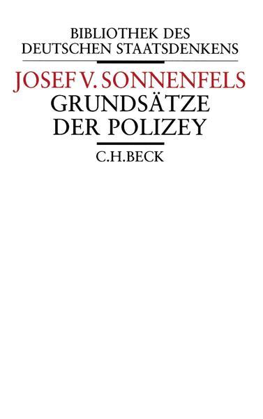 Grundsätze der Polizey als Buch