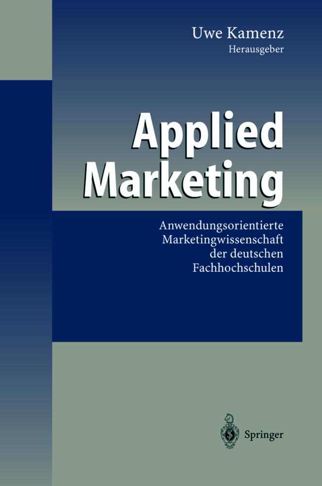 Applied Marketing als Buch