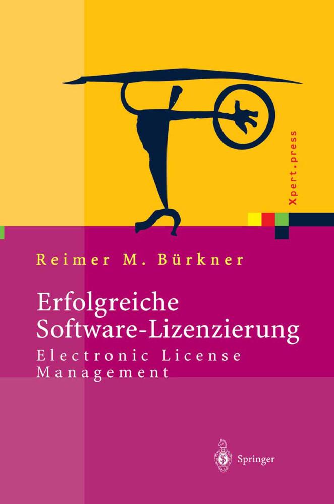 Erfolgreiche Software-Lizenzierung als Buch